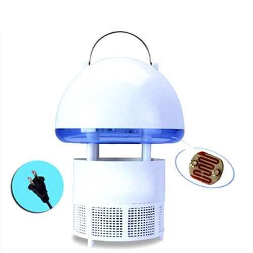 Photocatalyt Mosquito Killer Mole Repeller Electric Anti Mosquito Mole Rodent Repeller Lamp Blue