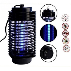 Electric Photocatalyst Mosquito Fly Bug Insect Zapper Killer with Trap Lamp Practical Eco-Friendly Black