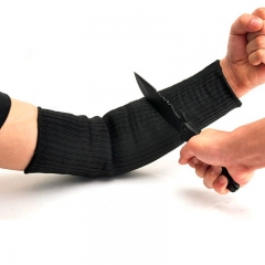 Gloves Anti-cutting Breathable Safety Arm Wrist Cut Resistant Gloves Long Butcher Steel Gloves At Picture