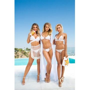 Bikini Set Women Sexy Swimsuit  Summer   Female Sexy Bench Swimsuit Bathing Suit Push Up Biquini 4#-M S-M-L