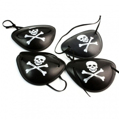 Halloween Pirate Eye Mask for Halloween Party Masquerade Random Pattern for festival