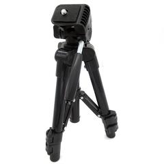Portable Height Adjustable Sea Fishing Lamp Bracket Telescopic Mini Lightweight Tripod Stand black