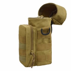 Tactical Molle Water Bottle Pouch bag For Travelling Outdoor Sport Mountaineering as picture as picture