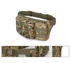 Outdoor Military Tactical Backpack Army Shoulder Bag Camping Hiking Hunting Backpack Trekking Bag khaki as picture
