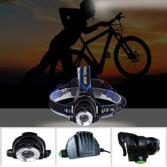 Q5 Led Headlamp Zoomable Headlight Waterproof Head Torch flashlight Head lamp Fishing Hunting Light as picture for outdoor