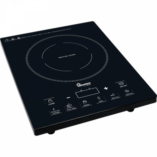 Ramtons Induction Cooker (RM/381), with FREE NON-STICK PAN - Black