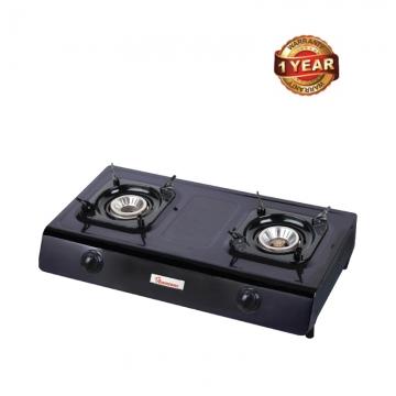 Ramtons 2 Burner Table Top Gas Cooker (RG/516) - Black