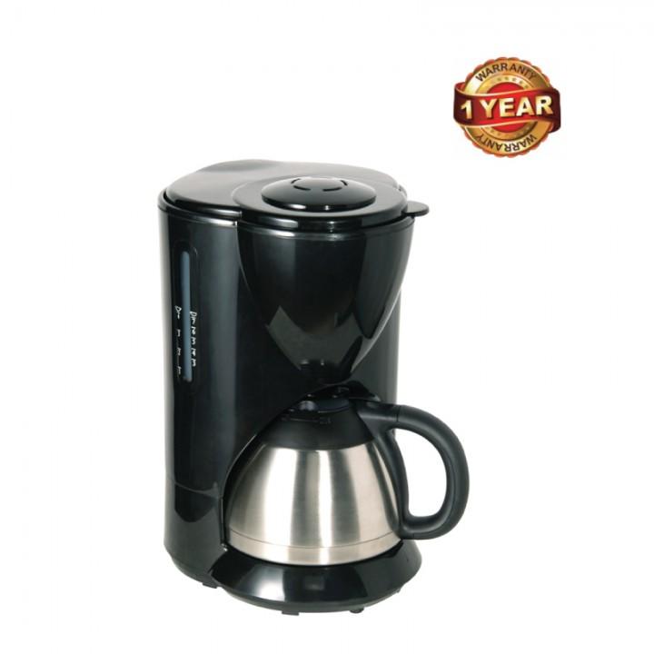 Ramtons Steel Jug Coffee Maker (RM/376) - Black