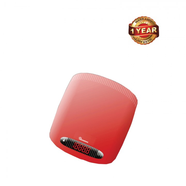 Ramtons Digital Display Kitchen Weighing Scale (RM/354) - Red