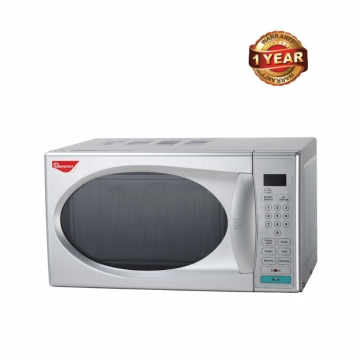 Ramtons Microwave with Grill & Digital Control Panel (RM/238) - Silver, 20 Litre Capacity 700 Watts