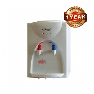 Ramtons Table Top Water Dispenser with Hot & Normal Taps (RM/418) - White