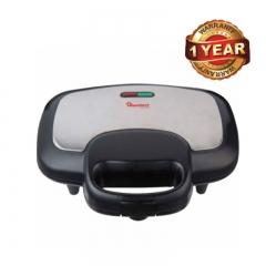 Ramtons 2-Slice Sandwich Toaster (RM/478) - Black & Silver