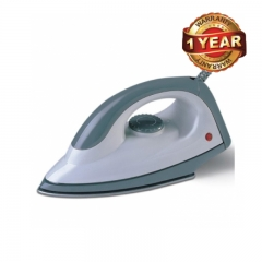 Ramtons( RM/180) Dry Iron Box –1100 Watts, White & Green