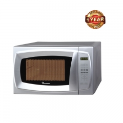 Ramtons Microwave with Grill & Digital Control Panel (RM/310) - Silver, 20 Litre Capacity, 700Watt