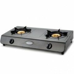 Ramtons 2 Burner Table Top Gas Cooker (RG/501) - Teflon