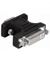 DVI-F to VGA-M  Adapter black .