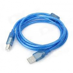 5m USB High Speed 2.0 to Printer Cable blue 5 meters