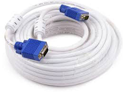 VGA Cable 5m white 5 meters