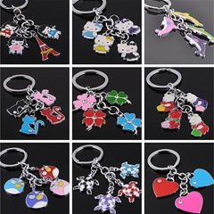 Personalized bag pendant key chain Random delivery