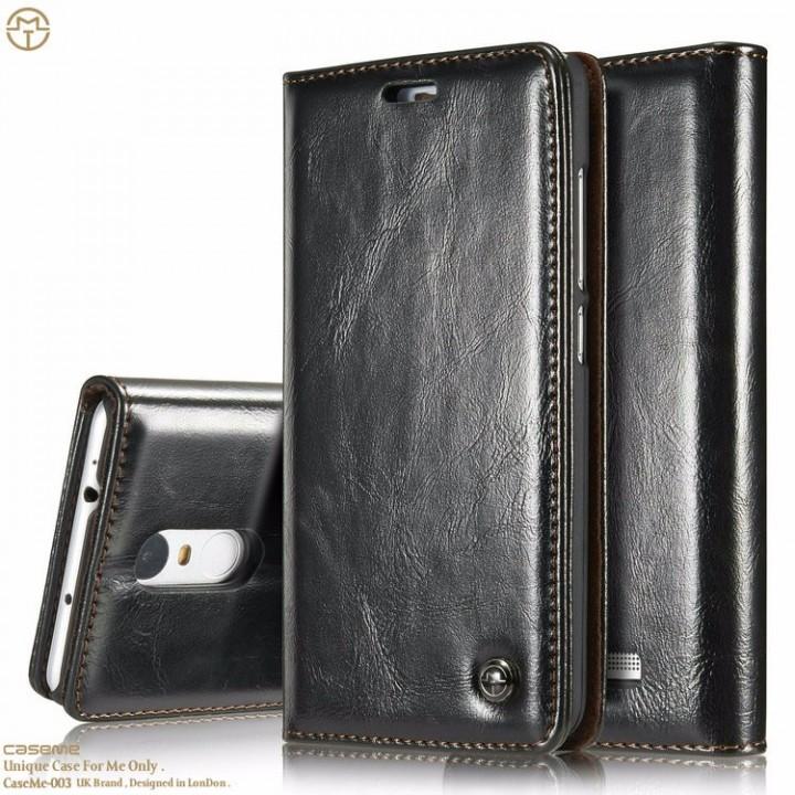 watch 927a5 3a2ce For RedMI 3 Note3 Xiaomi5 Case Original CaseMe Leather Wallet Magnetic Flip  Cover Phone Cases black Redmi 3