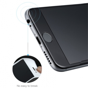 Benks 3D Curved Toughened Glass Anti-blue Ray Film For iPhone Protective Full Screen Protector black iPhone 6