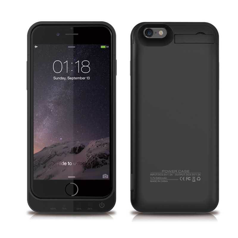 half off 43484 70ffd Portable 4200mAh For iphone 5 5S Power Bank Case External Battery Pack  Backup Charger Case black iPhone 5/5s