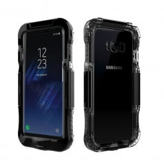 Waterproof Phone Case for Samsung S8/ S8 Plus Water Dirty Shock Proof Cover black Samsung S8