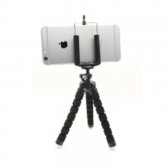 Phone Holder Flexible Tripod Bracket Selfie Expanding Stand Mount Monopod Styling  For Phone Camera black normal