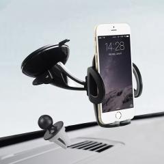 2in1 Universal mobile phone Holder Car windshield air Vent Mount holder 360 Degree Adjustment