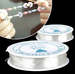 IFeel Length 0.5-1.0mm Diameter Crystal Elastic Beading Cord String Thread for DIY Necklace Bracelet 12M Length one size