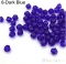 IFeel Jewellery 30pcs loose glass crystal bicone spacer beads 4mm Clear Black Green Blue  pick Color Dark Blue 4mm