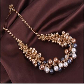 IFeel Necklaces pendant necklace women necklace jewellery plants Korean version Retro Necklace antique copper plate one size