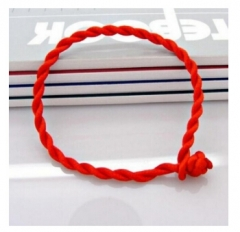 2017 Bracelet Red Rope Bangle Lucky Bracelets on the Leg for Women Cord String Line Handmade Jewelry Red 19cm