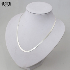 IFeel jewellery 1 Piece/Set New Fashion snake chain of bone Necklace For Women  Men Jewellery Gift silver necklace*6