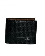 Wallet for men black 11.5cm*9.5cm*2mm