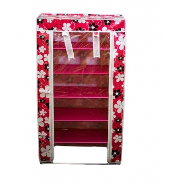 Shoe Cabinet red