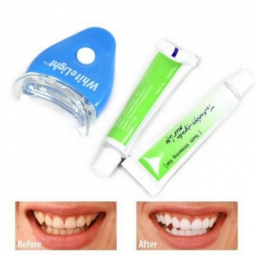 White Light  Tooth Whitening System White and blue