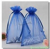 Jewelry/Candy Pouches 34.5 *13.5 cm Blue 13.5*34.5