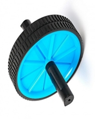 BFT Plastic Roller Double Wheel Black & Blue