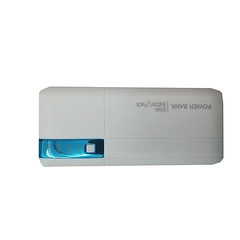 Generic 20000mAh powerbank With LED light - White And Blue white 20000