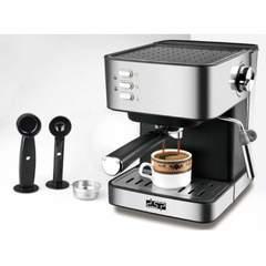 DSP KA3028 – Coffee Machine Stainless Steel Pump Espresso Maker 220-240V 850W black normal