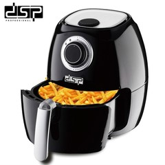 DSP Electric Air Fryer 220V-240V 1800W Large Capacity Easy To Use Non-Stic black normal