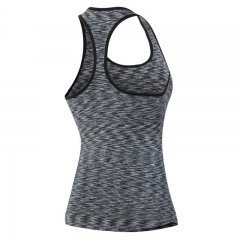 Ladies running vest sports yoga harness vest black s