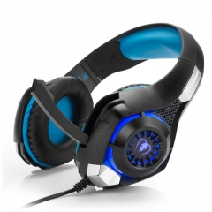 GM-1 Gaming Headset Headphone with Mic for PC PS4 X box One Game  Casque d'écoute Black/Blue no no