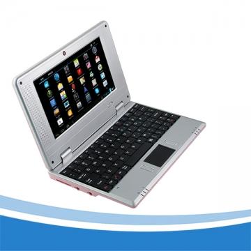 Ordinateur Netbook Portable Notebook HDMI WiFi 7 inch Black Pink RAM 512MB/ROM 4G