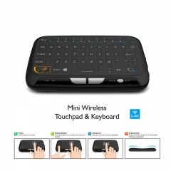 H18 Mini Wireless Keyboard 2.4GHz AirFly Mouse Remote Game Touchpad For Android TV Box Tablet Pc black one size