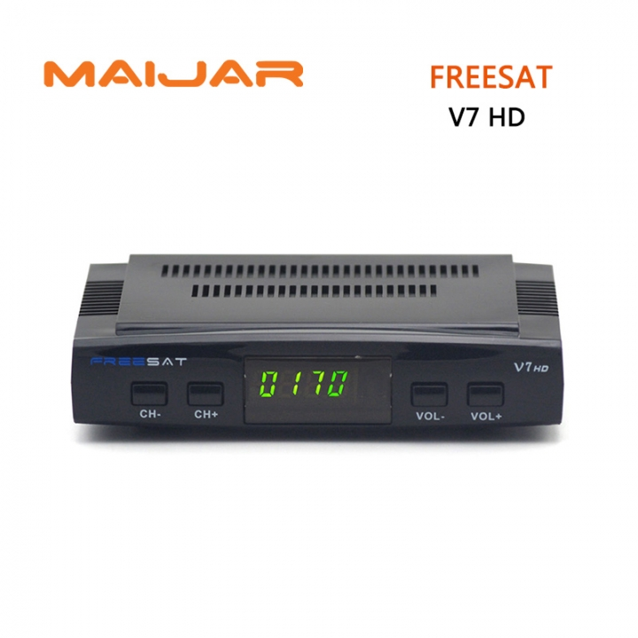 Freesat V7 DVB-S2 HD satellite TV receiver  suppport Youtube Powervu CCcam Newcamd network sharing