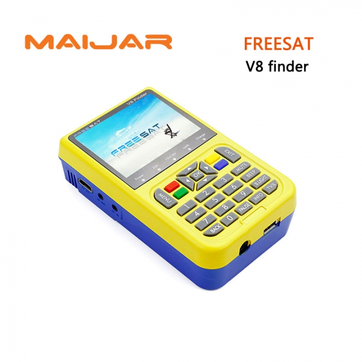 Freesat V8 Finder 3.5 inch LCD Colour Screen Fully DVB compliant Live FTA Digital Picture Sound