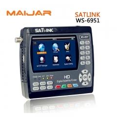 Digital Satellite Finder Meter Satlink WS6951 WS-6951 For DVB-S2/S Signal Search Meter Finder