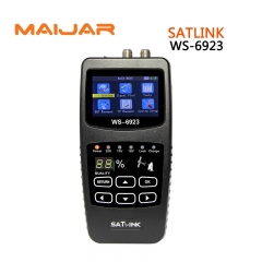 Digital Satellite Finder Satlink WS6923 Meter DVB-S2 Satellite Signal Search With LCD Screen